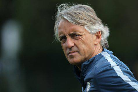 Mancini da tecnico dell'Inter ©Getty Images