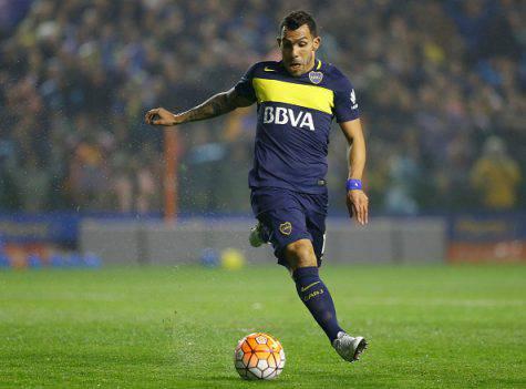 Tevez con la maglia del Boca Juniors ©Getty Images