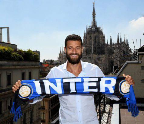 Inter, Antonio Candreva (twitter @inter)