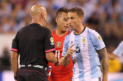 Biglia con la maglia dell'Argentina ©Getty Images