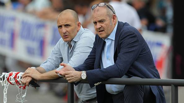 Inter, Ausilio col dg Gardini ©Getty Images