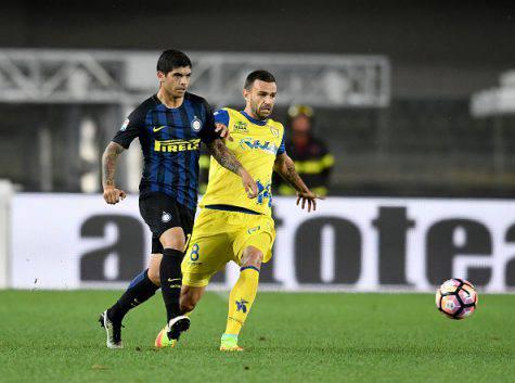 Inter, Banega in azione contro il Chievo ©Getty Images