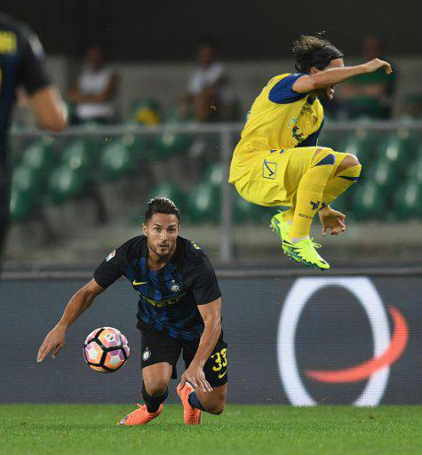D'Ambrosio in Chievo-Inter 2-0 ©Getty Images