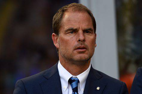 Inter, Gullit su De Boer
