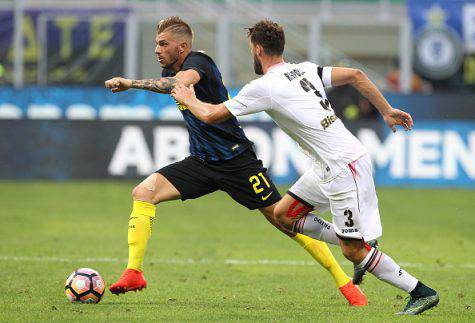 Inter, Davide Santon in azione ©Getty Images
