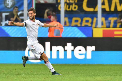 Inter-Palermo 1-1, Rispoli autore del momentaneo vantaggio rosanero ©Getty Images