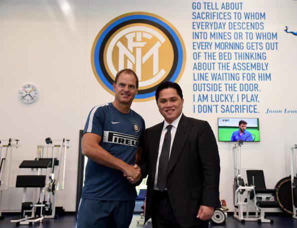 Inter, de Boer e Thohir (inter.it)