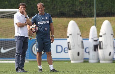 Inter, Zanetti con de Boer alla Pinetina - Getty Images