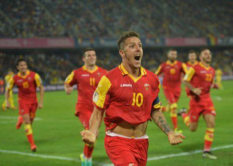 Jovetic con la maglia del Montenegro ©Getty Images
