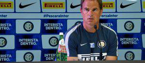 de Boer in conferenza ©Getty Images