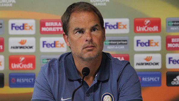 Inter, de Boer - Getty Images