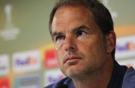 Sparta-Inter, le parole di de Boer - Getty Images