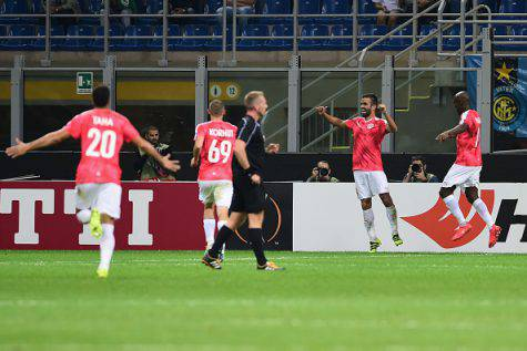 Europa League, Inter-Be'er Sheva 0-2 ©Getty Images