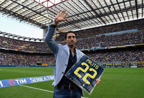 Inter, Diego Milito torna al 'Meazza' - Getty Images