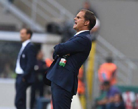 Inter-Juventus 2-1, le parole di Frank de Boer - Getty Images