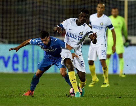 Inter, Gnoukouri in azione