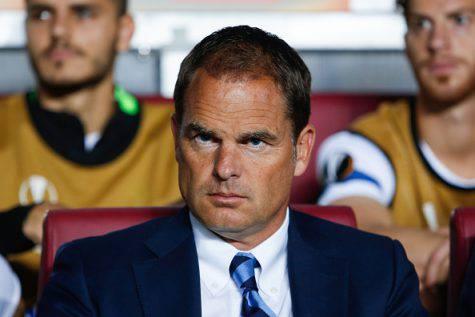 Sparta-Inter 3-1, le parole di Frank de Boer (Getty Images)