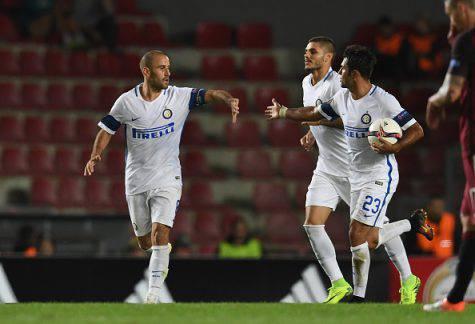 Sparta-Inter 3-1, Palacio a segno (Getty Images)