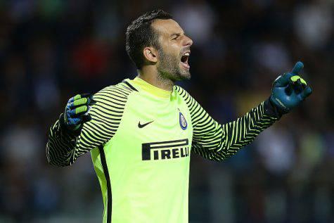 Handanovic migliore di Inter-Napoli