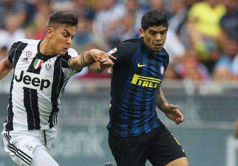 Banega contro la Juve / Inter.it
