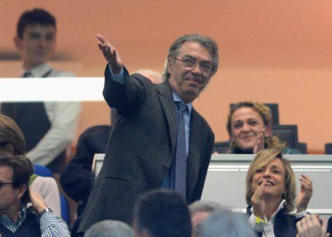 Inter, Moratti al 'Meazza' ©Getty Images