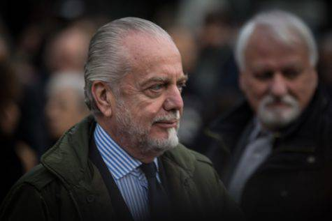 De Laurentiis, patron del Napoli (Getty Images)