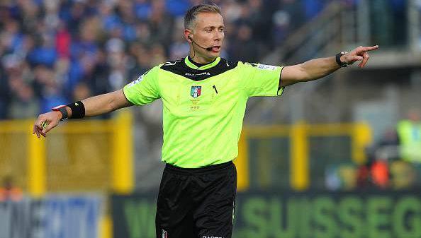 Paolo Valeri arbitro Inter.Genoa
