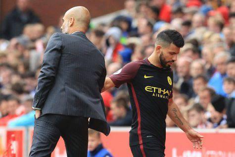 Aguero, è rottura con Guardiola? ©Getty Images
