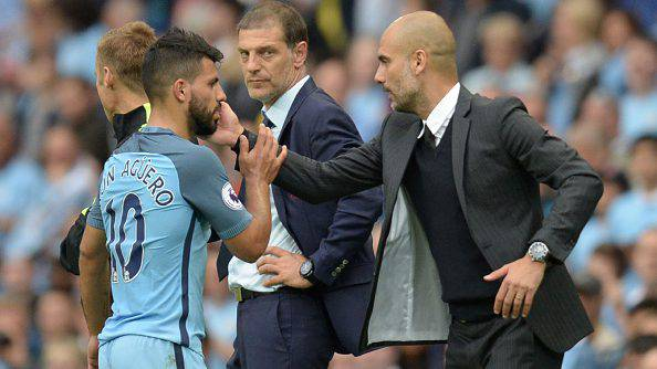 Inter, Sergio Aguero ©Getty Images e Pep Guardiola ©Getty Images