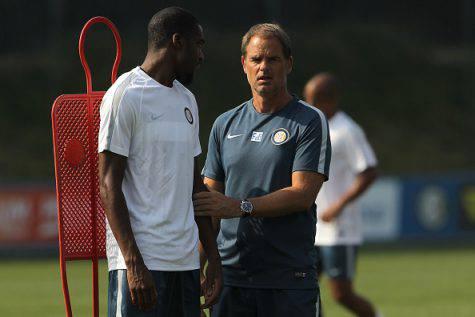 Inter, Kondogbia con de Boer alla Pinetina ©Getty Images