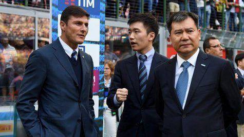 Crisi Inter, striscione dei tifosi cinesi contro Suning