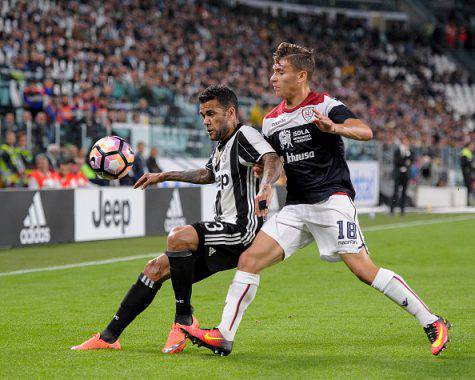 Barella in azione contro la Juve (Getty Images)