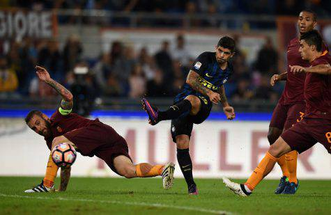Roma-Inter 2-1, Banega (Getty Images)