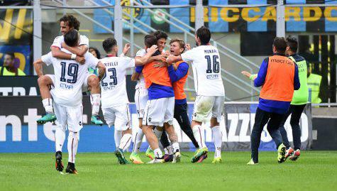 Serie A, Inter-Cagliari 1-2 (Getty Images)