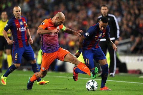 Inter, Pablo Zabaleta in azione ©Getty Images