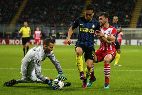 Inter-Southampton 1-0, Handanovic ©Getty Images
