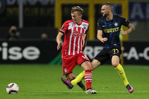 Ward-Prowse in azione contro l'Inter ©Getty Images
