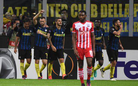 Europa League, Inter-Southampton 1-0 ©Getty Images