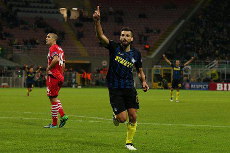 Inter-Southampton 1-0, Candreva decide il match ©Getty Images