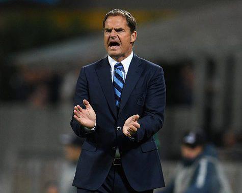 Inter, Frank de Boer ©Getty Images