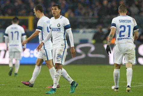 Atalanta-Inter 2-1, i giocatori nerazzurri (Getty Images)