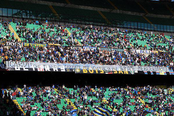 Inter, Curva Nord - curvanordmilano.net