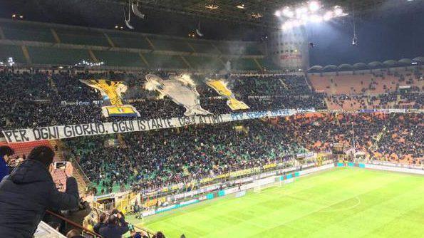 Inter stadio Meazza squalifica cori contro Napoli