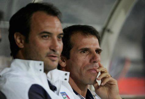 Casiraghi e Zola (Getty Images)