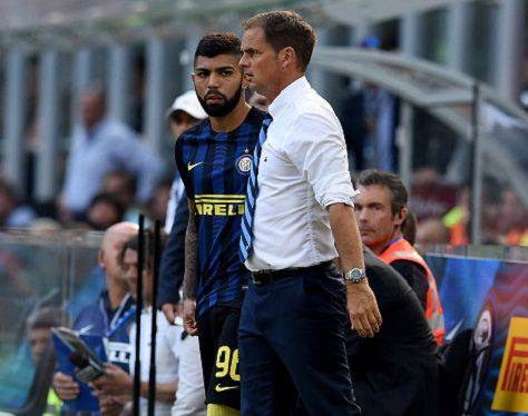 Inter, de Boer con Gabigol ©Getty Images