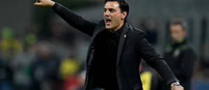 Milan-Inter 2-2, le parole di Montella (Getty Images)
