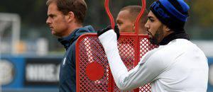 Inter, de Boer con Gabigol ©Getty Images