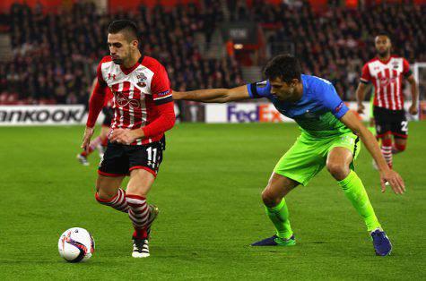 Southampton-Inter 2-1, Ranocchia in azione ©Getty Images