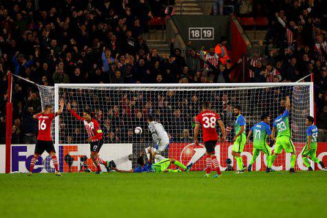 Southampton-Inter 2-1 ©Getty Images