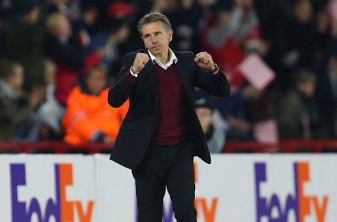 Southampton-Inter 2-1, Puel ©Getty Images